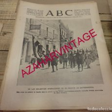 Coleccionismo de Revistas y Periódicos: ABC.28-07-1938.GUERRA CIVIL.TOMA DE DON BENITO.MEDELLIN.DESTRUCCION DEL PUENTE.REFUGIADOS.BADAJOZ.. Lote 150794246