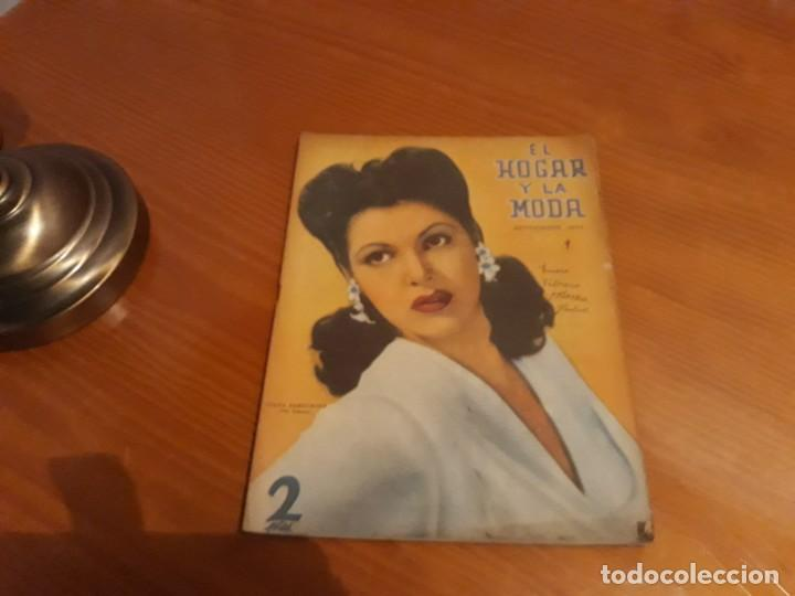 Coleccionismo de Revistas y Periódicos: Preciosa Revista El Hogar Y La Moda 1944 - Foto 2 - 150796570