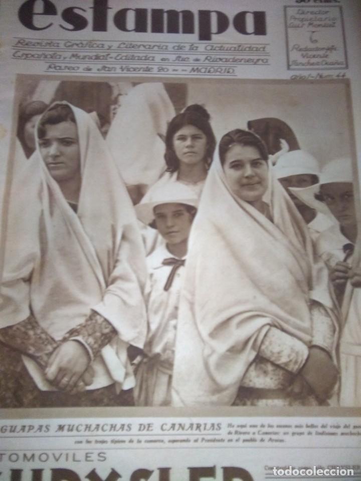 ESTAMPA 30 OCTUBRE 1928 COMO LOS INVALIDOS DEJAN DE SERLOS SOLDADOS DEPOSITO REMONTA MONTAÑERO LUIS (Coleccionismo - Revistas y Periódicos Antiguos (hasta 1.939))