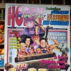 Coleccionismo de Revistas y Periódicos: REVISTA HOBBY DE VIDEOJUEGOS NÚMERO 35. THE FLINTSTONES. LOS PICAPIEDRA. Lote 150827865