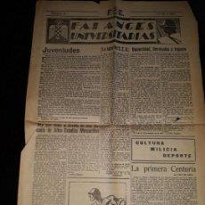 Coleccionismo de Revistas y Periódicos: FALANGES UNIVERSITARIAS 22 JULIO 1939 PAGINA 3 Y 4 TSNGER SON APALEADOS LOS MOROS AMIGOS DE ESPAÑA. Lote 150875538