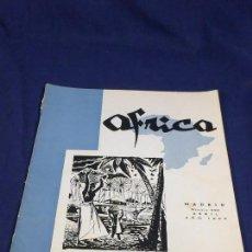 Collezionismo di Riviste e Giornali: ANTIGUA REVISTA ÁFRICA FRANCO Nº 220 ABRIL MADRID AÑO 1960. Lote 150901890