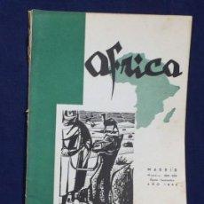 Collezionismo di Riviste e Giornali: REVISTA ÁFRICA DIRIGIDA POR FRANCO Nº 224 225 AGOSTO SEPTIEMBRE MADRID 1960. Lote 150909058