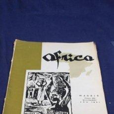 Collezionismo di Riviste e Giornali: ÁFRICA REVISTA FUNDADA Y DIRIGIDA POR FRANCO Nº 240 DICIEMBRE AÑO 1961 MADRID. Lote 150911698