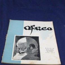 Collezionismo di Riviste e Giornali: REVISTA ÁFRICA FUNDADA POR FRANCO Nº 129 130 SEPTIEMBRE OCTUBRE AÑOS 1952 MADRID. Lote 150915750