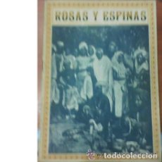 Coleccionismo de Revistas y Periódicos: ROSAS Y ESPINAS. SEPTIEMBRE 1916 AÑO II Nº 21. Lote 27100476