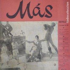 Coleccionismo de Revistas y Periódicos: REVISTA MAS 1941. Lote 150993170