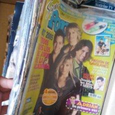 Coleccionismo de Revistas y Periódicos: SORAYA ARNELAS REVISTA SUPER POP EDURNE VICTOR FRAN DIELI SERGIO RIVERO. Lote 151028397
