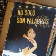 Coleccionismo de Revistas y Periódicos: NO SOLO SON PALABRAS CLUB DE FANS OFICIAL DE SORAYA ARNELAS REVISTA OCHENTAS CD. Lote 151028734