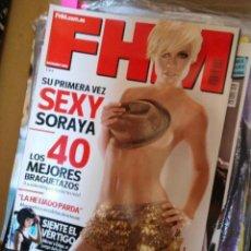 Coleccionismo de Revistas y Periódicos: REVISTA FHM SORAYA ARNELAS SIN MIEDO. Lote 151029545