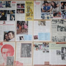 Coleccionismo de Revistas y Periódicos: PAQUIRRI & ISABEL PANTOJA LOTE PRENSA 1980S/90S REVISTAS CLIPPINGS TORERO TOROS. Lote 151075506