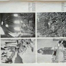 Coleccionismo de Revistas y Periódicos: HOJA REVISTA ORIGINAL GUERRA CIVIL ESPAÑA. ESCENAS GUERRA EN BELCHITE Y TERUEL. Lote 151099154