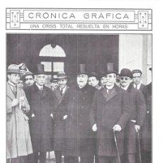 Collectionnisme de Revues et Journaux: 1920 HOJA REVISTA MADRID PRESIDENTES CONSEJO ALLENDESALAZAR CONGRESO SÁNCHEZ GUERRA EDUARDO DATO. Lote 151122022