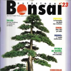 Colecionismo de Revistas e Jornais: == R05 - REVISTA - BONSAI AUTÓCTONO N-23. Lote 151204118