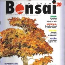 Colecionismo de Revistas e Jornais: == R09 - REVISTA - BONSAI AUTÓCTONO N-20. Lote 151204610