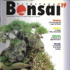 Colecionismo de Revistas e Jornais: == R08 - REVISTA - BONSAI AUTÓCTONO N-19. Lote 151205106