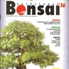 Colecionismo de Revistas e Jornais: == R07 - REVISTA - BONSAI AUTÓCTONO N-16. Lote 151205982