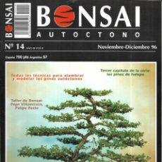 Colecionismo de Revistas e Jornais: == R06 - REVISTA - BONSAI AUTÓCTONO N-14. Lote 151206822