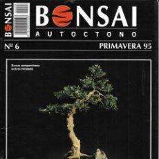 Colecionismo de Revistas e Jornais: == R04 - REVISTA - BONSAI AUTÓCTONO N-6. Lote 151207070