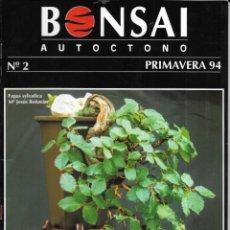 Colecionismo de Revistas e Jornais: == R03 - REVISTA - BONSAI AUTÓCTONO Nº 2. Lote 151207398