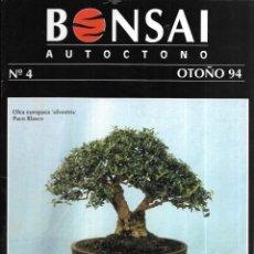 Colecionismo de Revistas e Jornais: == R02 - REVISTA - BONSAI AUTÓCTONO N-4. Lote 151207646