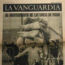 Coleccionismo de Revistas y Periódicos: 1937 LA VANGUARDIA. EL ABASTECIMIENTO DE LAS LINEAS DE FUEGO. Lote 189558791