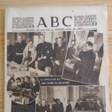 Coleccionismo de Revistas y Periódicos: ABC 29 MAYO 1942 - NOTICIAS DE GUERRA - DIVISON AZUL -PUBLICIDAD VIEJA LAVANDA CALVER - TERRY ..... Lote 151233566