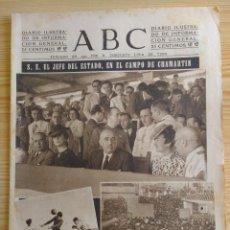 Coleccionismo de Revistas y Periódicos: ABC 23 JUNIO 1942 - NOTICIAS DE GUERRA-PUBLICIDAD GASOGENO AZCOYEN-GASOGENO HERCULES-FOSFORO FERRERO. Lote 151263542