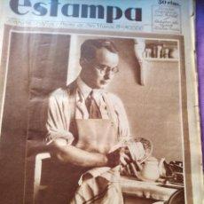 Coleccionismo de Revistas y Periódicos: ESTAMPA 1932 2 JULIO 1932 MONTAÑAS DE GUATEMALA DE VALLDEMOSA. Lote 151288942