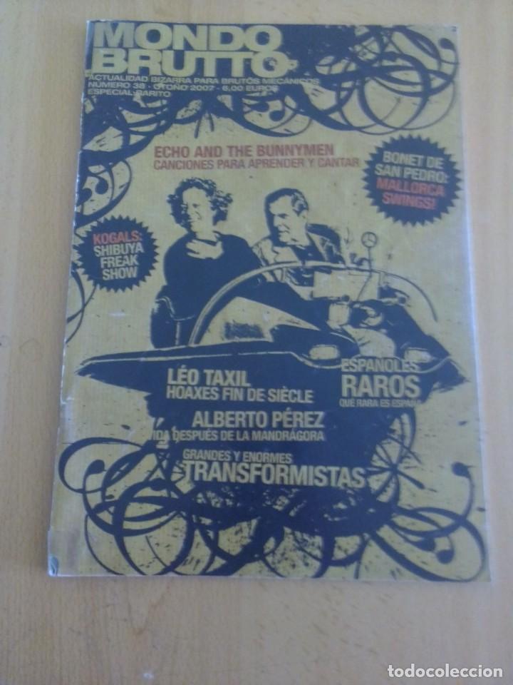 MONDO BRUTTO N°38 (Coleccionismo - Revistas y Periódicos Modernos (a partir de 1.940) - Otros)