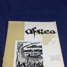 Collezionismo di Riviste e Giornali: REVISTA ÁFRICA EDITADA POR FRANCO Nº 215 NOVIEMBRE AÑO 1959 MADRID. Lote 151356474