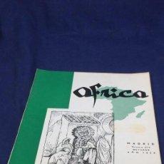 Collezionismo di Riviste e Giornali: ANTIGUA REVISTA ÁFRICA DIRIGIDA POR FRANCO Nº 214 OCTUBRE AÑO 1959 MADRID. Lote 151356922