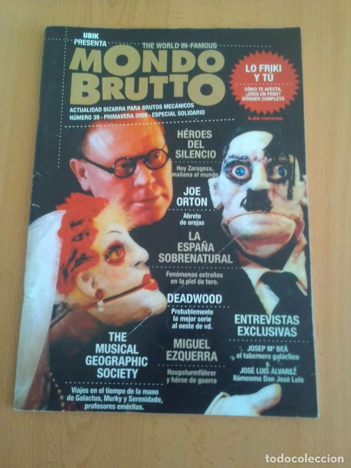 MONDO BRUTTO N° 39 (Coleccionismo - Revistas y Periódicos Modernos (a partir de 1.940) - Otros)