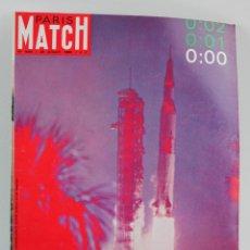 Coleccionismo de Revistas y Periódicos: REVISTA PARIS MATCH, COHETE APOLLO XI A LA LUNA, NÚM. 1055, 26 DE JULIO, 1969. EN FRANCÉS. . Lote 151362694