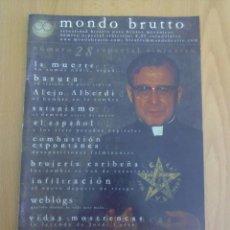 Coleccionismo de Revistas y Periódicos: MONDO BRUTTO N° 28. Lote 151374722
