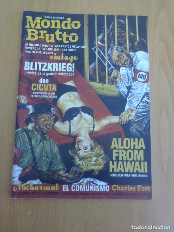 MONDO BRUTTO N° 32 (Coleccionismo - Revistas y Periódicos Modernos (a partir de 1.940) - Otros)