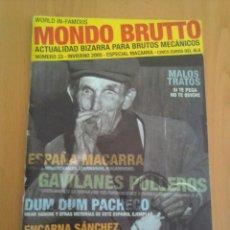 Coleccionismo de Revistas y Periódicos: MONDO BRUTTO N° 33. Lote 151375662