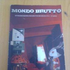 Coleccionismo de Revistas y Periódicos: MONDO BRUTTO N° 41. Lote 151375942