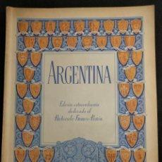 Coleccionismo de Revistas y Periódicos: ARGENTINA. CÁMARA ARGENTINA DE COMERCIO EN ESPAÑA. EDICIÓN PROTOCOLO FRANCO-PERÓN. 1948. AÑO II Nº 5. Lote 151460218