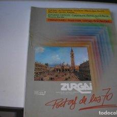 Coleccionismo de Revistas y Periódicos: ZURGAI, - BILBAO DICIEMBRE 1989. POETAS DE LOS 70. Lote 151520406