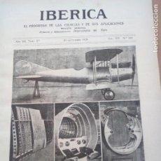 Coleccionismo de Revistas y Periódicos: REVISTA IBERICA Nº345 1920 DUNAS DE LA PROVINCIA DE CADIZ -DUNAS PUERTO SANTA MARIA MONTE BREÑA. Lote 151521842