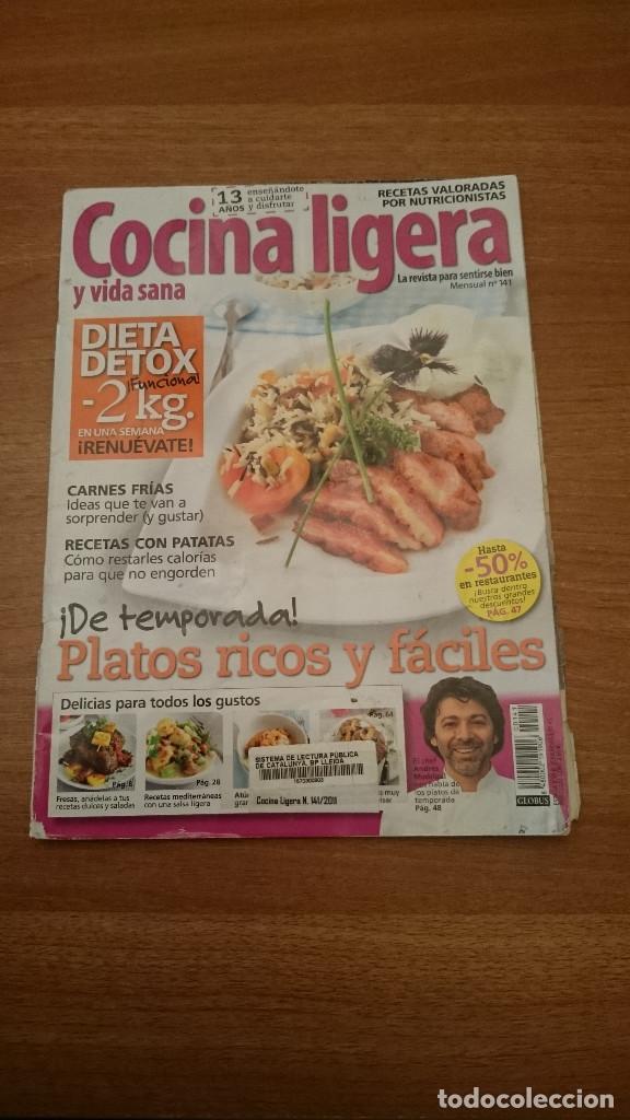 COCINA LIGERA Y VIDA SANA - Nº 141 (Coleccionismo - Revistas y Periódicos Modernos (a partir de 1.940) - Otros)