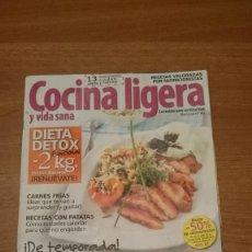 Coleccionismo de Revistas y Periódicos: COCINA LIGERA Y VIDA SANA - Nº 141. Lote 151533554