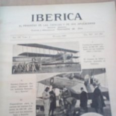 Coleccionismo de Revistas y Periódicos: REVISTA IBERICA Nº334 1920 LA NAVEGACION POR EL EBRO FOTOS ROQUETAS . Lote 151535734