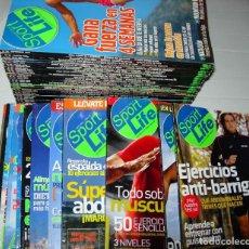 Coleccionismo de Revistas y Periódicos: LOTE DE 44 REVISTAS SPORTLIFE: REVISTA DE DEPORTES, SALUD Y FITNESS. Lote 151589918