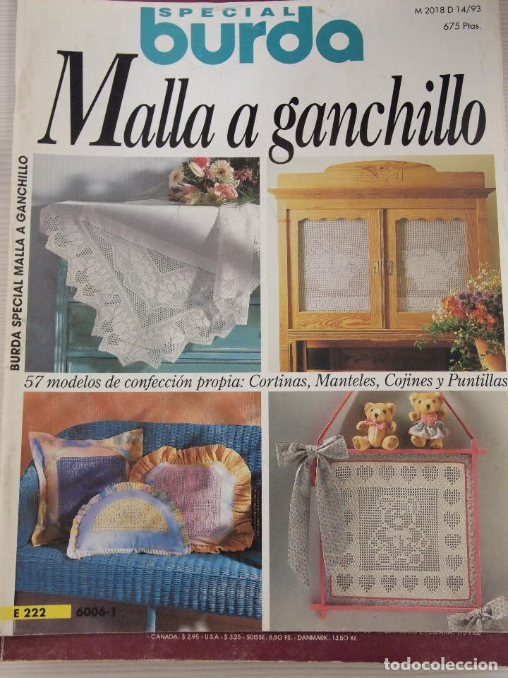 REVISTA ESPECIAL BURDA ESPECIAL GANCHILLO CON GRÁFICOS (Coleccionismo - Revistas y Periódicos Modernos (a partir de 1.940) - Otros)