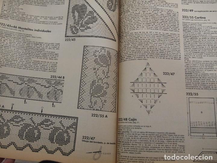 Coleccionismo de Revistas y Periódicos: REVISTA ESPECIAL BURDA ESPECIAL GANCHILLO CON GRÁFICOS - Foto 3 - 202872703