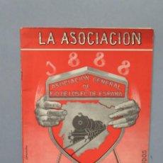 Coleccionismo de Revistas y Periódicos: REVISTA. 75 ANIVERSARIO. ASOCIACION DE FERROCARRILES ESPAÑA. Lote 151881742