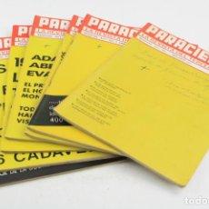 Coleccionismo de Revistas y Periódicos: LOTE DE 7 REVISTAS PARACIENCIA LA REVISTA DEL TERCER MILENIO, 1977 Y 1978, BARCELONA. . Lote 151950330