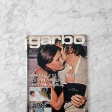 Coleccionismo de Revistas y Periódicos: GARBO - 1975 - ROCIO JURADO, SERRAT, PERET, AMPARO MUÑOZ, TERESA GIMPERA, BLANCA ESTRADA. Lote 152032414